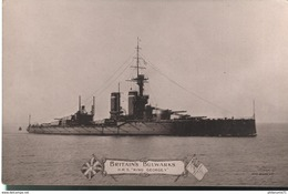 CPA Britain's Bulwarks - H.M.S. King Georges V - Non Circulée - Warships