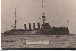 CPA Britain's Bulwarks - H.M.S. Devonshire - Non Circulée - Warships