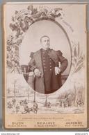 Photo Originale D'un Soldat Du 10ème Régiment D'Infanterie D'Auxonne 10 X 14 Cm - Circa 1910 - Guerre, Militaire