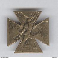 Badge De Journée Du Poilu 1915 - Dessin Lallique - Très Bon état - Army & War