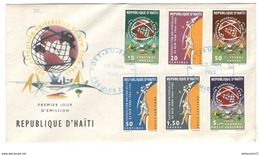 FDC Haïti 1965 - Exposition Universelle De New York 1964-1965 - Très Bon état - Haïti