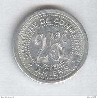 25 Centimes Chambre De Commerce D'Amiens 1921 - Monnaie De Nécessité - SUP - France