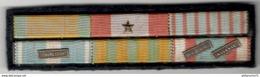 6 Réductions De Médailles Avec Barettes Extrème-orient , Maroc , Algérie - France