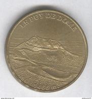 Jeton Touristique - Le Puy De Dôme - Non Daté ( 1998 ? ) - Monnaie De Paris - Non-datés