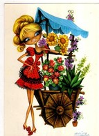 MARINA Marchande Des 4 Saisons, Fleuriste - Künstlerkarten