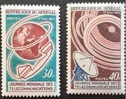 Senegal 1971 3rd. World Telecommunication Day - Senegal (1960-...)