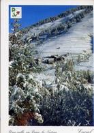 Parco Naturale Val Troncea - Laval Sotto Una Nevicata Precoce - Formato Grande Viaggiata – E 9 - Italy