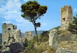 Popoli - Veduta Del Castello Dei Duca Cantelmo - Formato Grande Non Viaggiata – E 9 - Italy