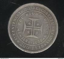 200 Réis 1898 Portugal TTB - Portugal