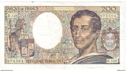 Billet De 200 Francs Montesquieu 1992 - 1962-1997 ''Francs''