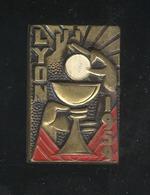 Badge XVIIe Congrès Eucharistique National - Lyon 1959 - Augis Lyon - Religion &  Esoterik