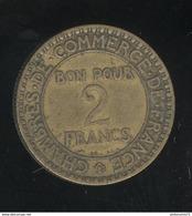 Bon Pour 2 Francs France 1920 TTB - France