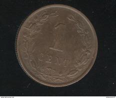 1 Centime Pays Bas / Nederland 1884 SUP - 1849-1890 : Willem III