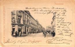 Romania - Bucharest - Bucuresei - Str Lipscani (Edit. Grünber, 1903) - Roumanie