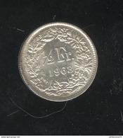 1/2 Franc Suisse / Switzerland 1963 SUP - Suiza