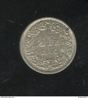 1/2 Franc Suisse / Switzerland 1957 TTB - Suisse