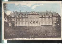 CPA Environs De Laives - Chateau De La Ferté - Circulée - Francia