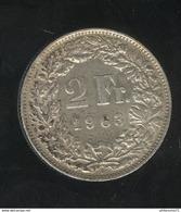 2 Francs Suisse / Switzerland 1963 TTB - Switzerland