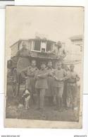 Carte Photo WW1 - Roulotte Des Pigeons Voyageurs - Non Circulée - Weltkrieg 1914-18