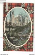 CPA Ecosse - Dunfermline Abbey From The Glen - Tartan Macintosh - Non Circulée - Fife
