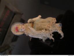 Poupée Rigide En Porcelaine - Bras Articulés - 7 Cm - Circa 1910 - Corps En Très Bon état - Dolls