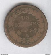1 Décime France - An 5 A - France