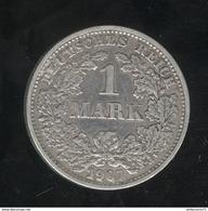 1 Mark Allemagne / Germany 1907 D - [ 2] 1871-1918: Deutsches Kaiserreich