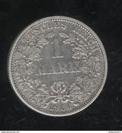 1 Mark Allemagne / Germany 1906 F - [ 2] 1871-1918: Deutsches Kaiserreich