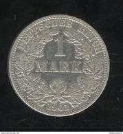 1 Mark Allemagne / Germany 1901 A - [ 2] 1871-1918: Deutsches Kaiserreich