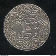 1 Franc Maroc 1924 Poissy - Sup - Maroc