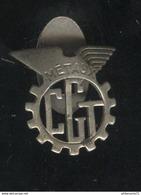Badge De Boutonnière Ancien CGT Metaux - Organisations