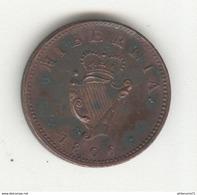 1 Farthing Irlande 1806 SUP - Nombreuses Taches De Vert-de-gris - Ierland