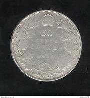 50 Centimes Canada 1912 TB+ - Canada