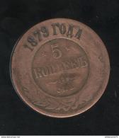 5 Kopecks Russie 1879 TB+ - Russland