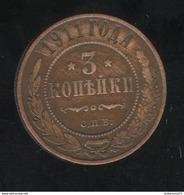 3 Kopecks Russie 1911 TTB+ - Russland