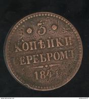 3 Kopecks Russie 1841 TTB - Russland