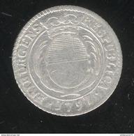 7 Kreuzer Suisse Canton De Fribourg 1797 TTB+ - Suiza