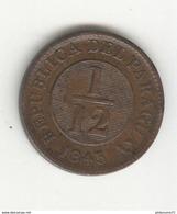 1/12 Réal Paraguay 1845 - SUP / UNC - Frappe Médaille - Paraguay