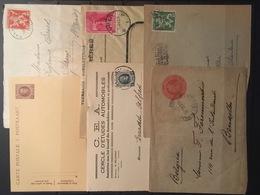 Opruiming / Liquidation Belgische Briefomslagen, Lettres Belge / Militaire Post, Gelegenheidsstempels ..... + 3 Kg. - Timbres