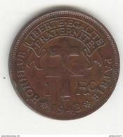 1 Franc Madagascar 1943 SUP - Colonies
