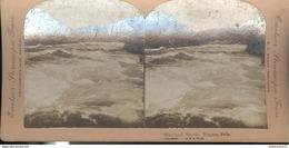 Photo Stéréoscopique Opaque 17,5 X 9 Cm - USA - Whirlpool Rapids - Niagara Falls - Photos Stéréoscopiques
