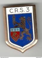 Insigne C.R.S. 3 - Ballard - Très Bon état - Police