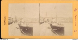 Photo Stéréoscopique Opaque 17,5 X 9 Cm - Dieppe - Photos Stéréoscopiques