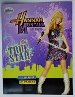 ALBUM D'IMAGES PANINI HANNAH MONTANA LE FILM TRUE STAR 2009 - Trading Cards