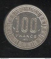 100 Francs République Gabonnaise 1977 TTB+ - Gabon