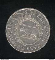 10 Kreuzer Suisse Canton De Berne 1797 SUP - Suisse