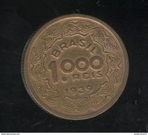 1000 Réis Brésil / Brasil 1939 - TTB+ - Brésil