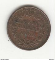 1/4 Anna East India Company 1835 TTB+ - Inde