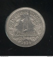 1 Mark Allemagne / Germany 1934 A SUP - [ 4] 1933-1945 : Tercer Reich
