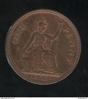 1 Penny Angleterre 1961 Elisabeth II SUP - 1902-1971 : Monnaies Post-Victoriennes